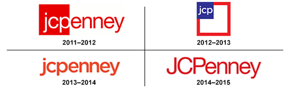 JCPenny logo redesign