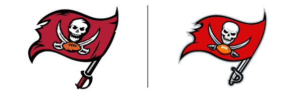 Tampa Bay Buccaneers logo redesign